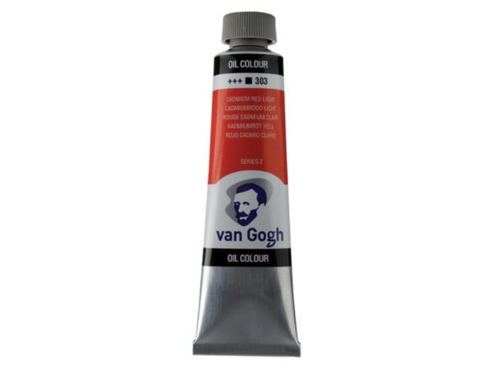 Ojlemaling Van Gogh-cad red light