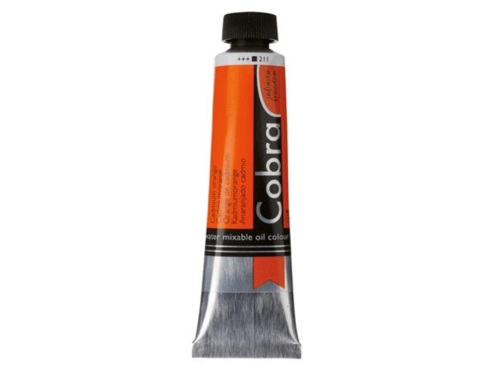 Oljemaling Cobra water mixable-cad orange