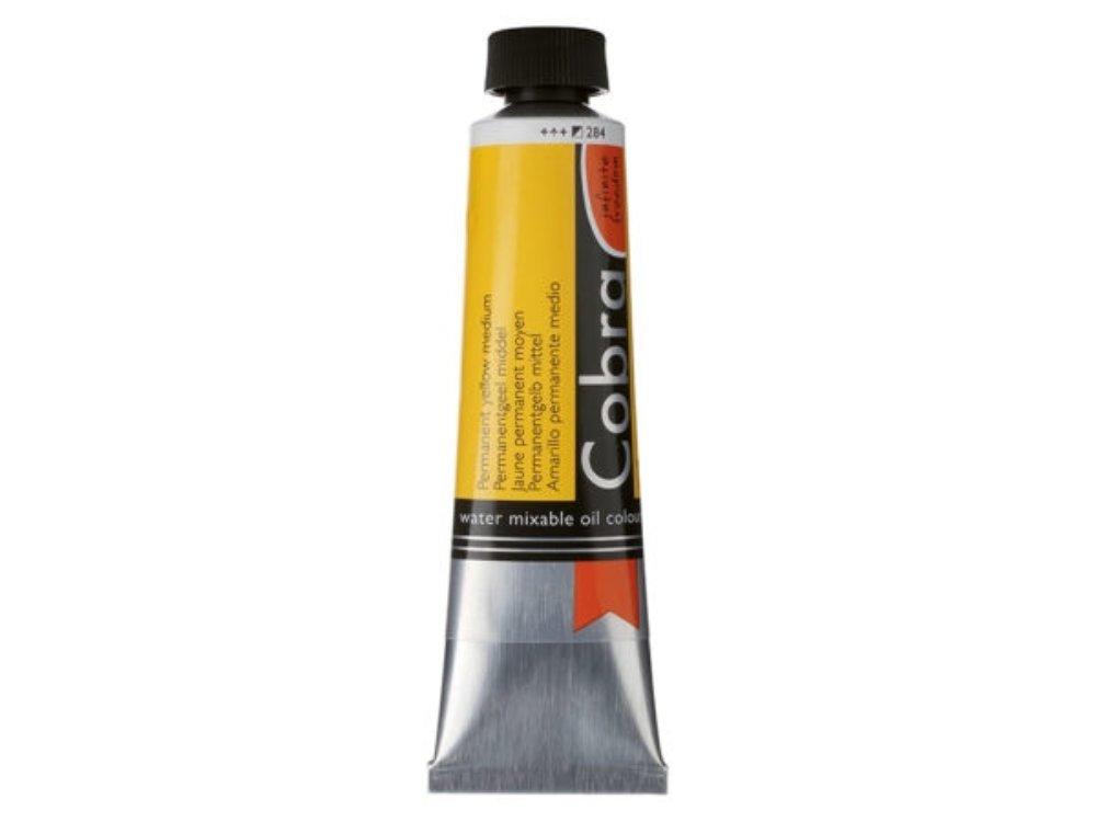 Oljemaling Cobra water mixable-Perm. yellow medium