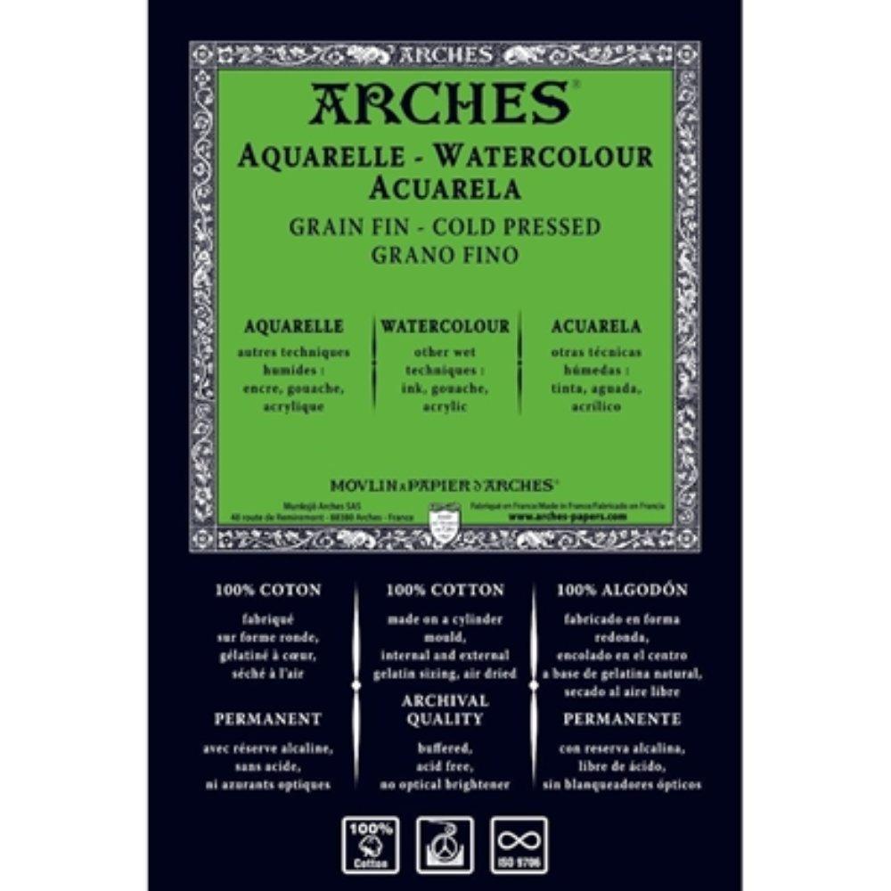 Akvarellark Arches fin 300g, 56x76cm