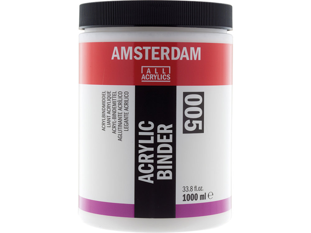 amsterdam acrylic binder 1000ml