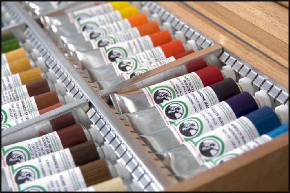 Oljemaling Old Holland-malingsett til Oljemaling kurs 40ml tube